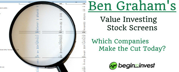 Ben Graham Value Screens Image