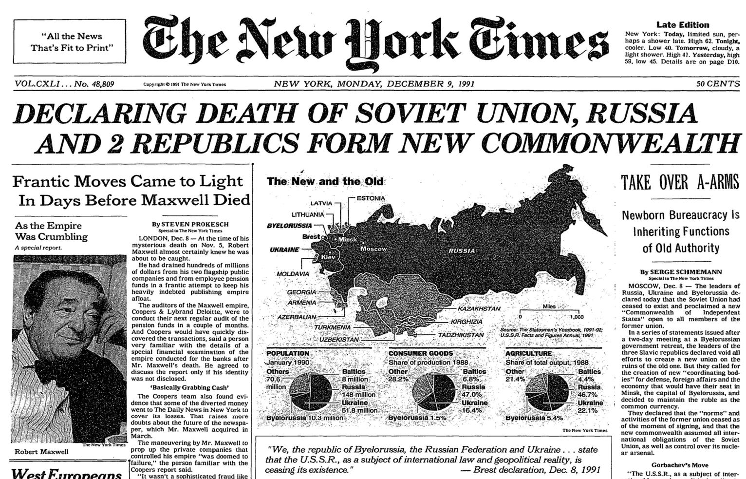 an analysis of soviet control in 1989 The other thing is that by 1989, while there were few true believers who saw the soviet union as a workers' paradise, there were still plenty of lefties left who thought the bloc was an.
