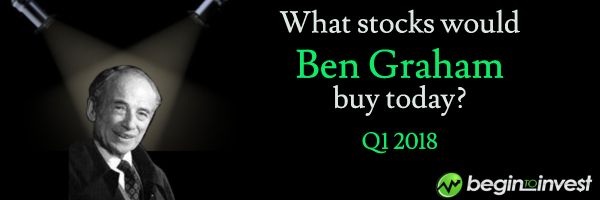 Ben Graham stock screen